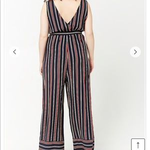 Forever 21 Pants - striped jumpsuit